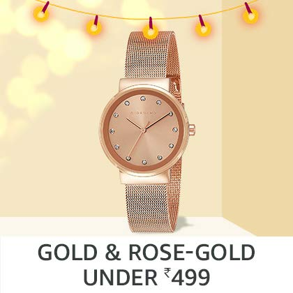 Gold & rose-gold watches