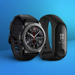 Fitness trackers & Smartwatches | Starting Rs1,299