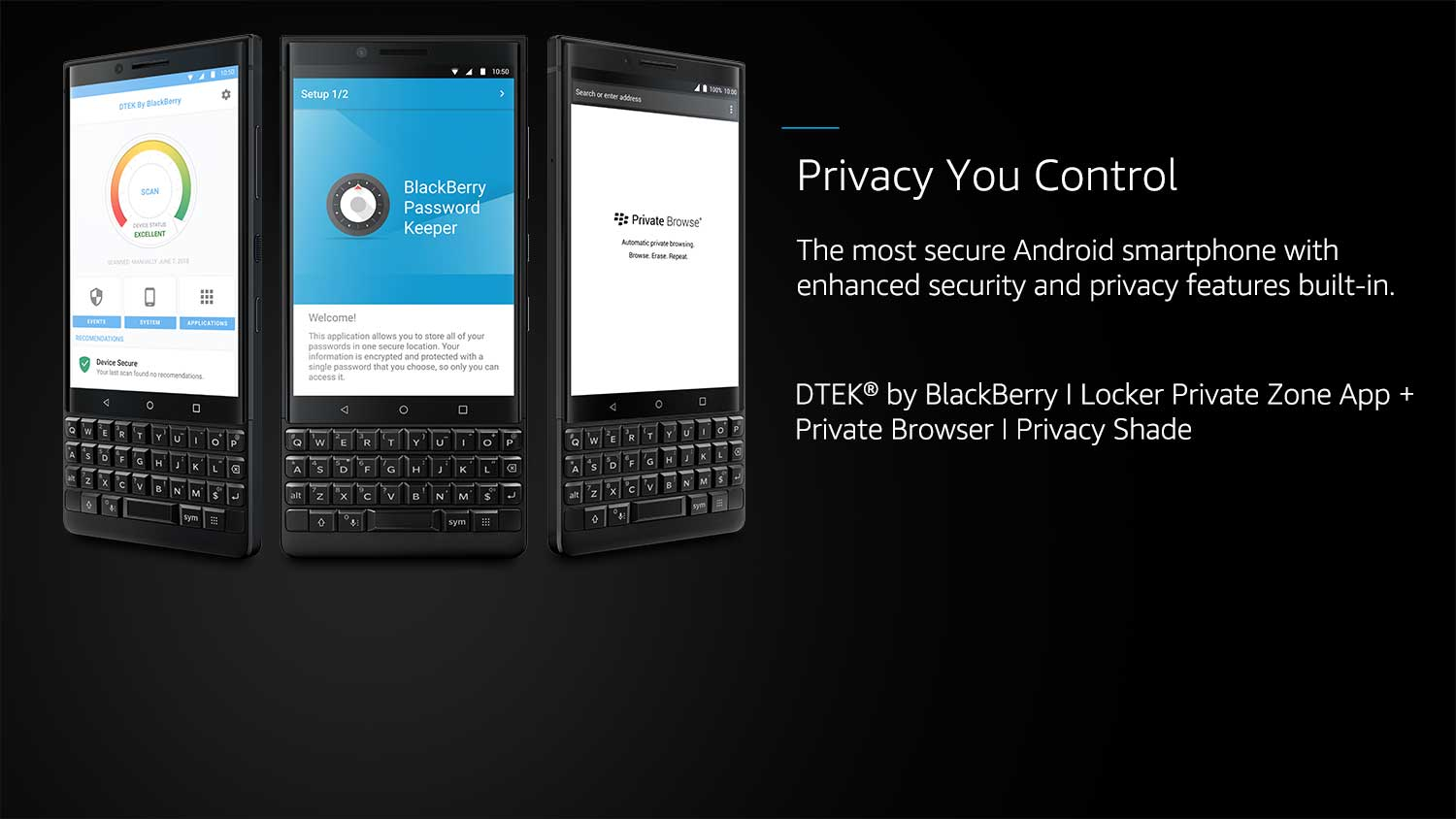 Blackberry Key2: Blackberry Key2 Specifications, Features at Amazon in