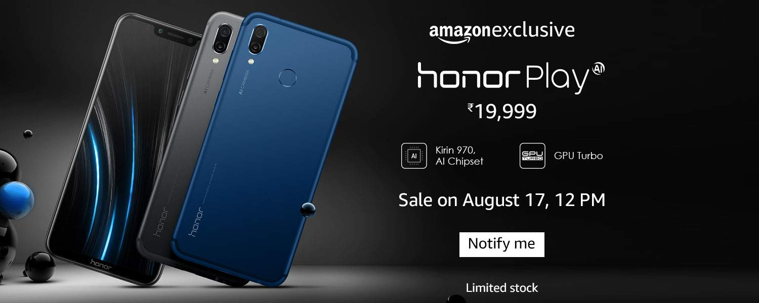 Honor Play Amazon