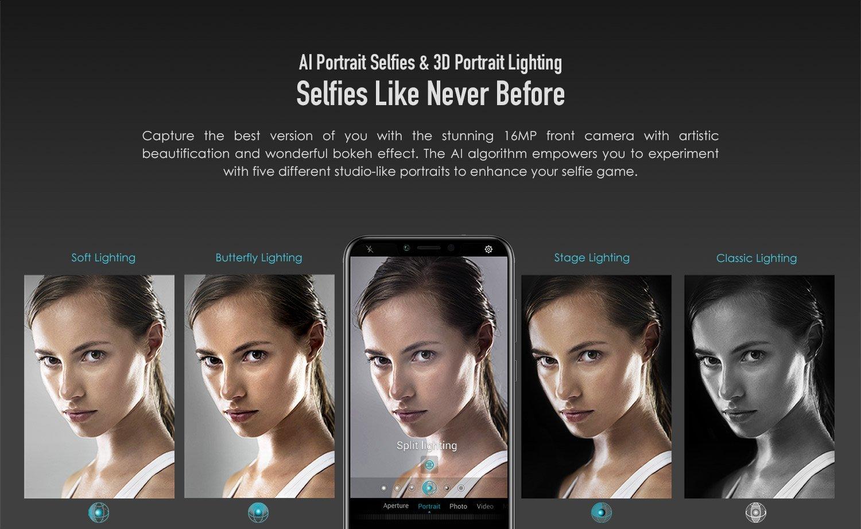 AI selfies