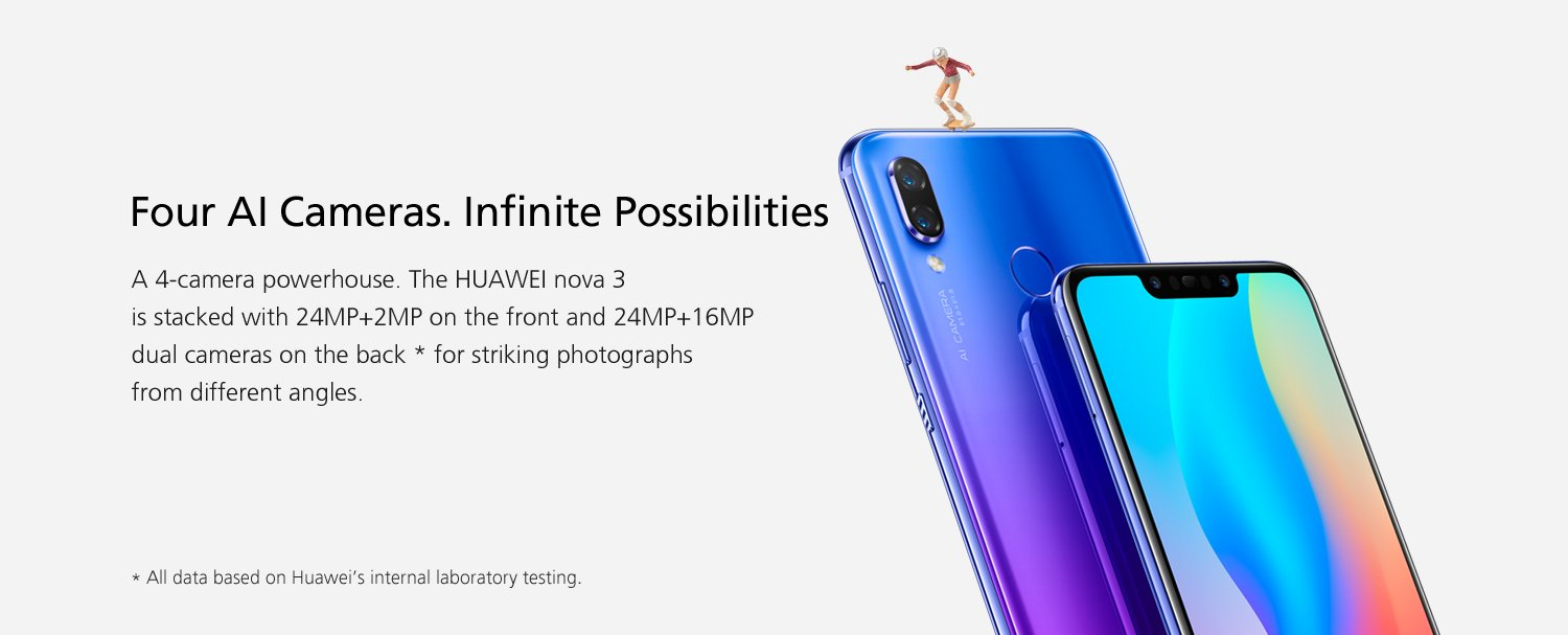 Huawei Nova 3 and 3i launched in India... || Price and Specifications ||