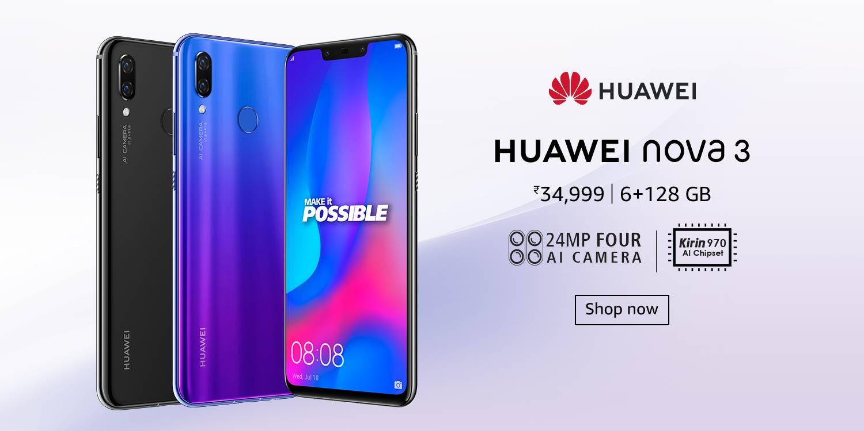 Amazon In Huawei Nova 3 Electronics