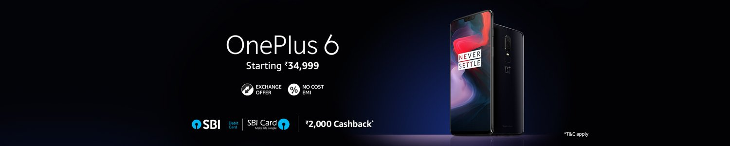 OnePlus 6 SALE LIVE - All Offers Inside