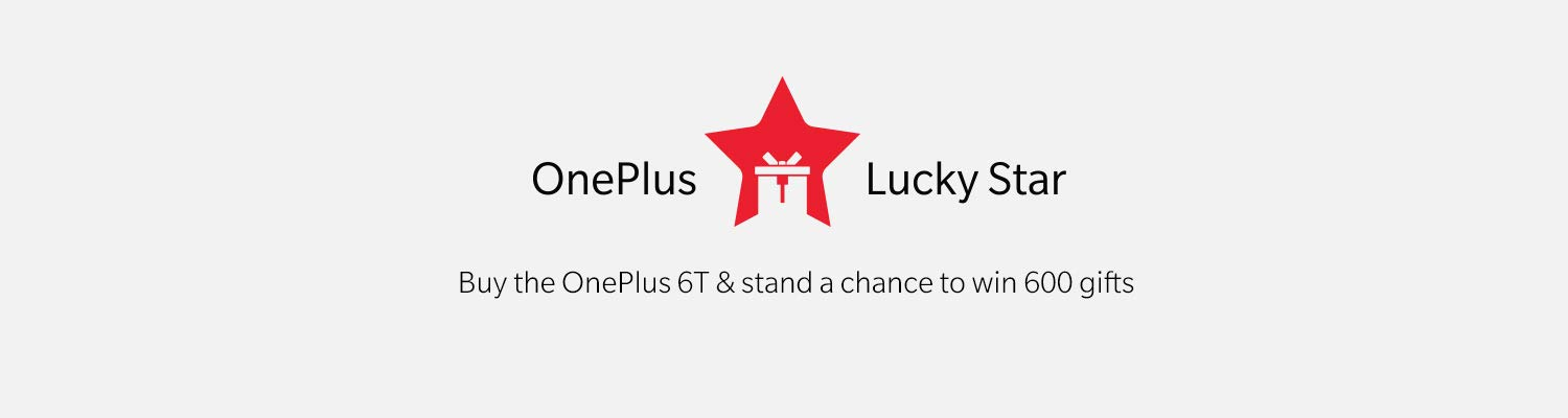 4th Year Anniversary offer - OnePlus LuckStar Contest tow in 600 Gifts
