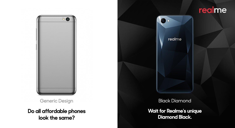 black diamond realme