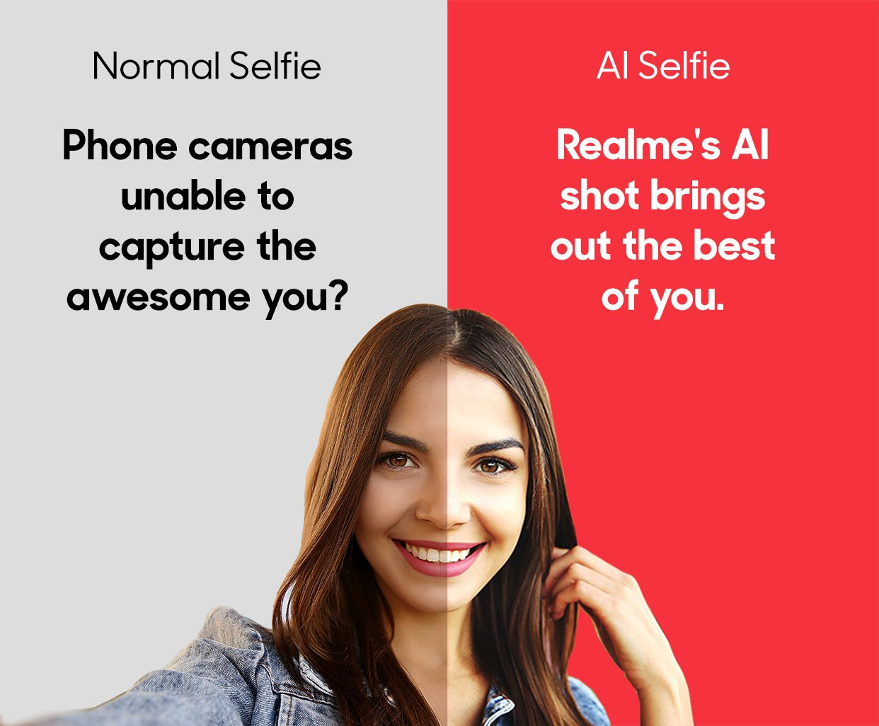 normal selfie- ai seldfie