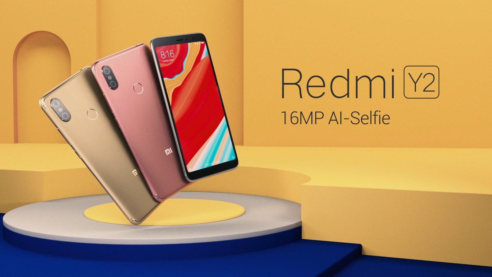 Redmi Y2: Redmi Y2 Specifications, Features at Amazon in