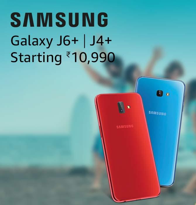 Samsung J6+& J4+