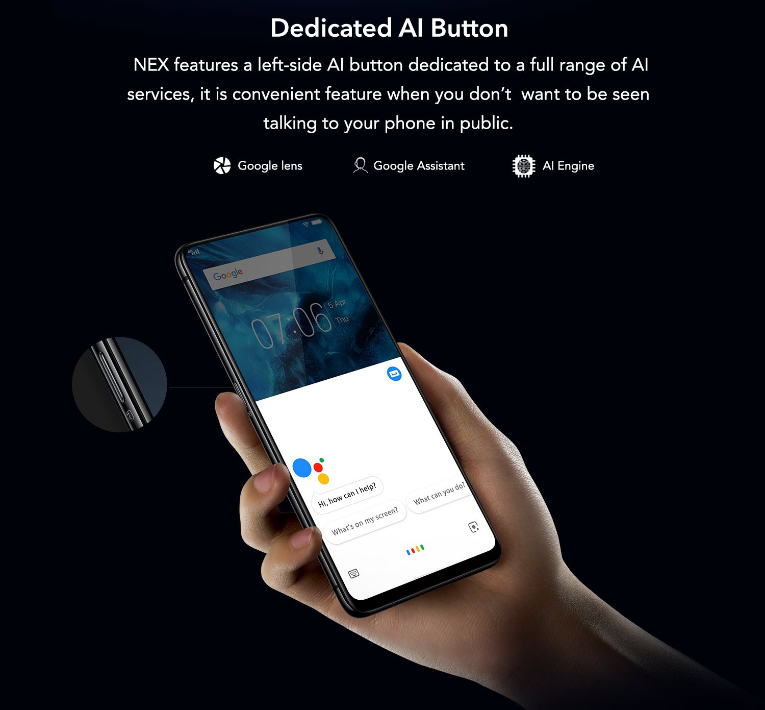 AI button