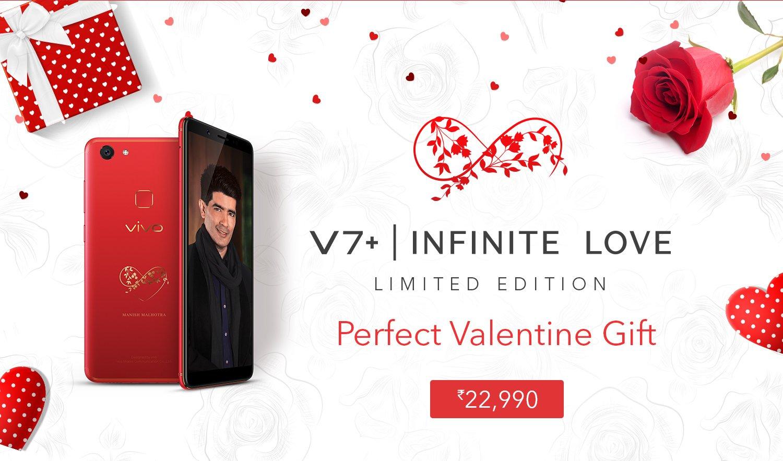 Vivo V7+ Red