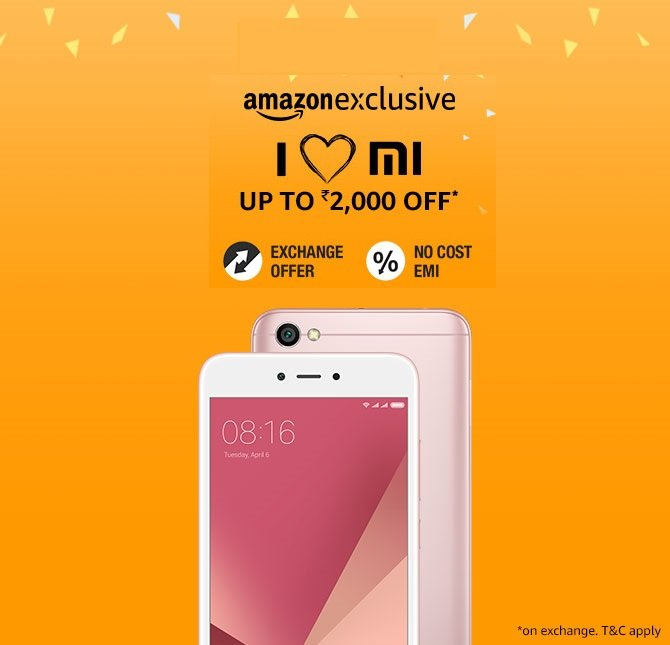 Xiaomi phones big discount, lowest price offers, buy latest smartphones online
