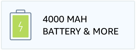 4000 mAh Battery & More