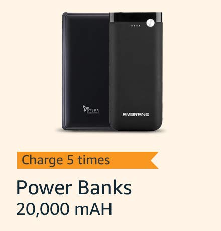Charge up to 5 times