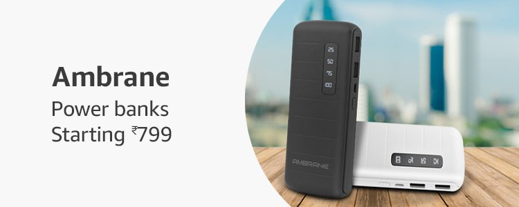 Ambrane Power banks