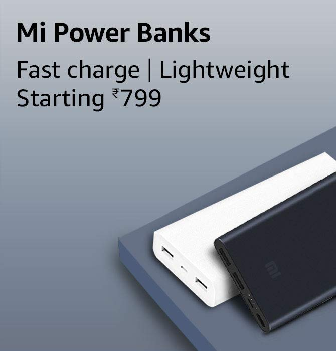 Mi Power banks