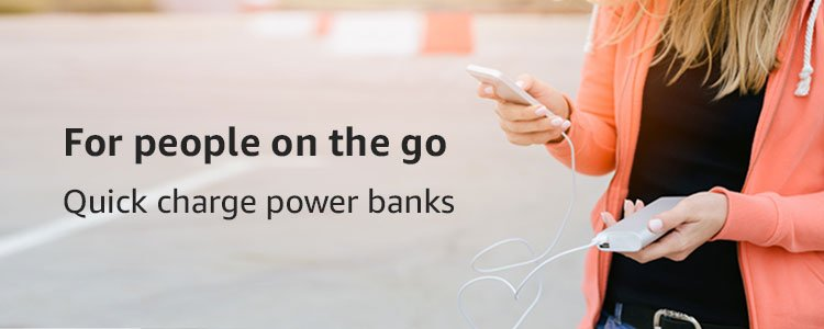 Quick charge power banks