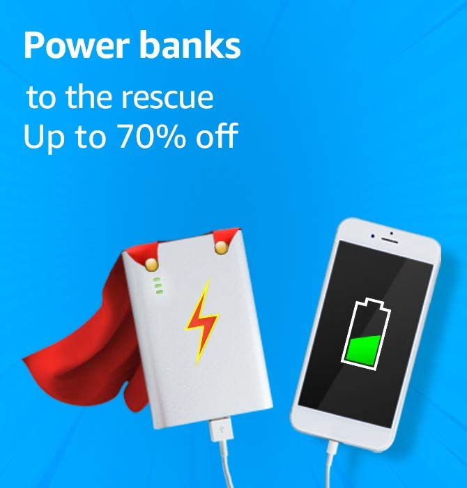 Power banks to the rescue