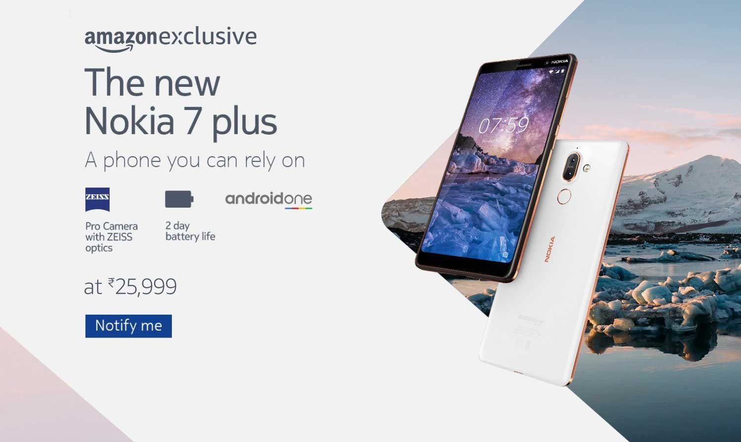 buy popular 846d4 bfd0e Nokia 7 Plus: Nokia 7 Plus Specifications, Features at Amazon.in