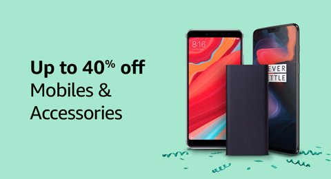 Mobiles Up to 40% off