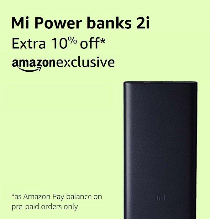 Mi Power banks