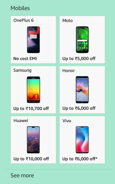 Top mobile phone offers