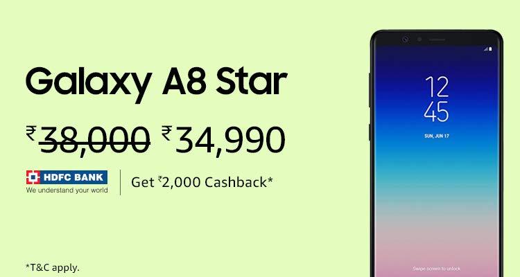 Galaxy A8 Star