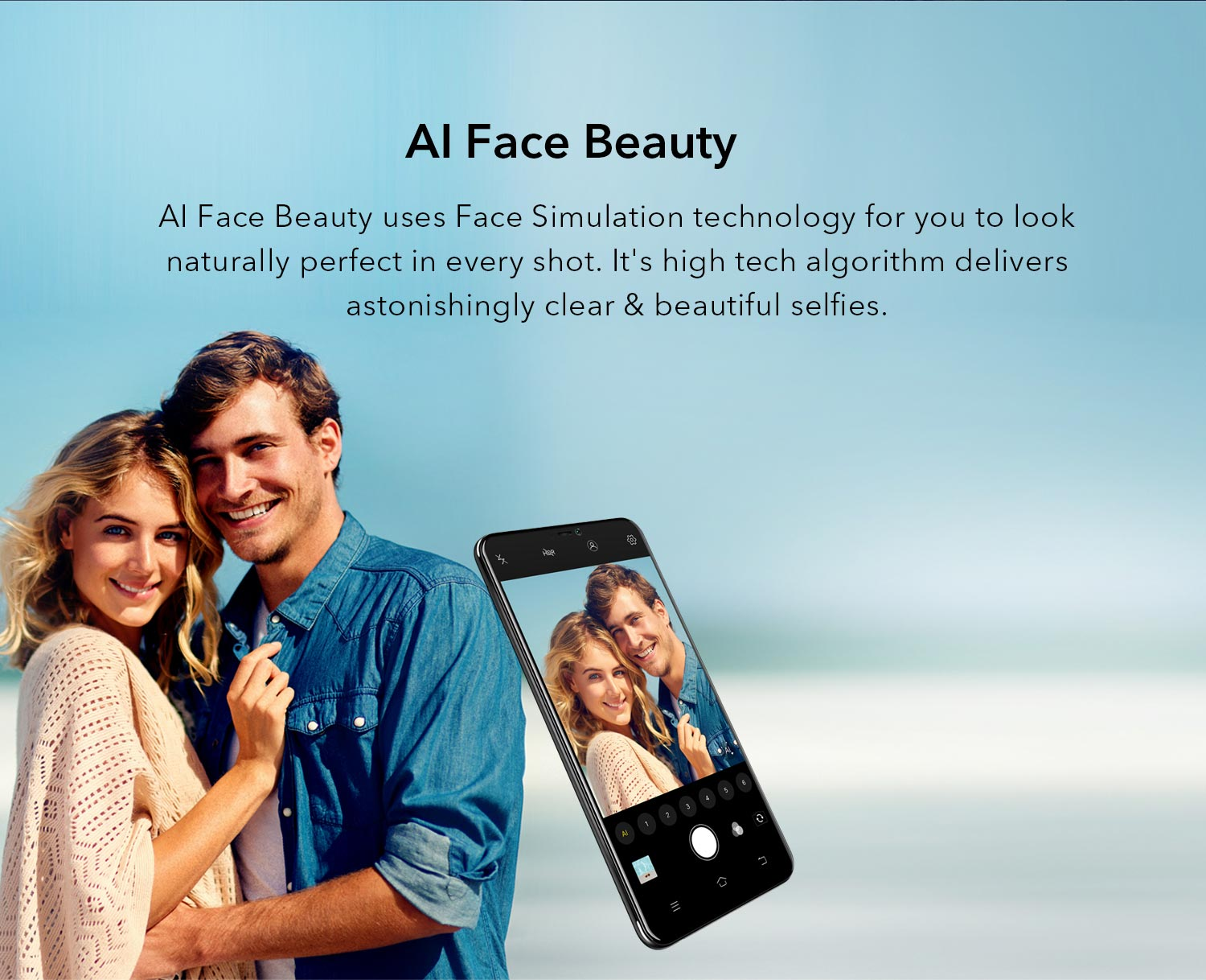 AI Beauty face