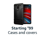 Cases & Covers, starting ₹99
