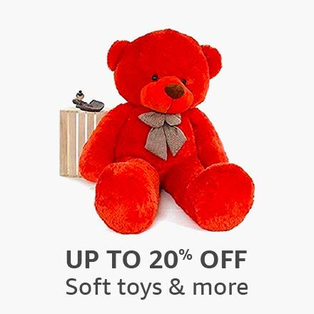 Up to 20% off: Soft toys