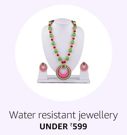 Water Resistant Jewellery