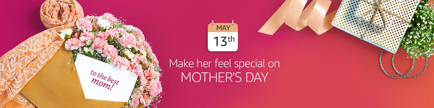 Make her feel special on Mother's day