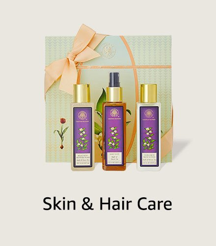 Skin & hair care hampers
