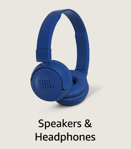 Speakers and headphones
