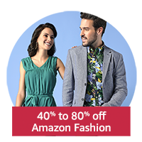 40-80% off Amazon Fashion