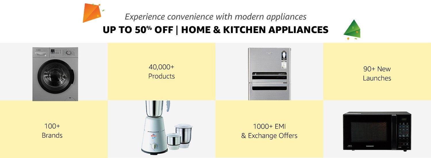 Up to 50% off Home & Kitchen