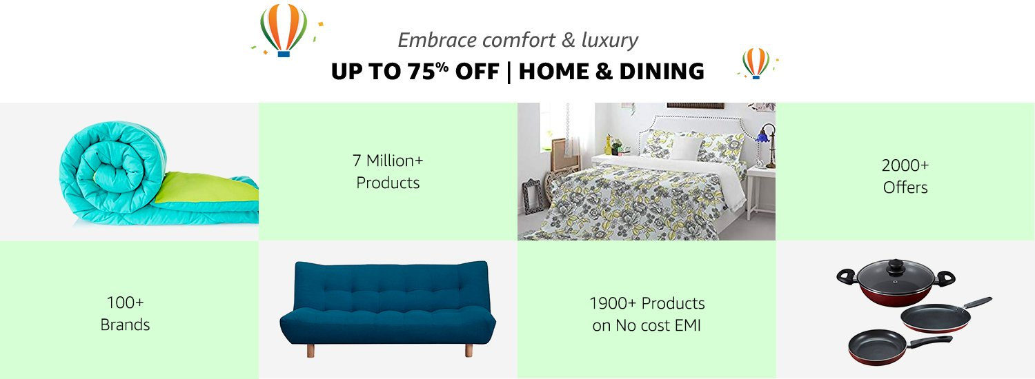 up to 50% off Home & Dining