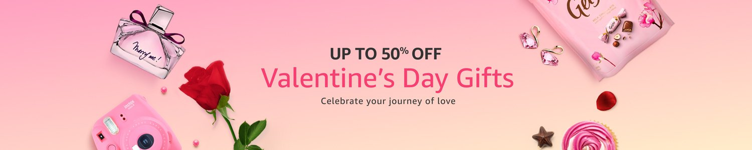 Get upto 70% off on Valentines Day Gifts