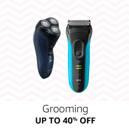 Up to 40% off Grooming