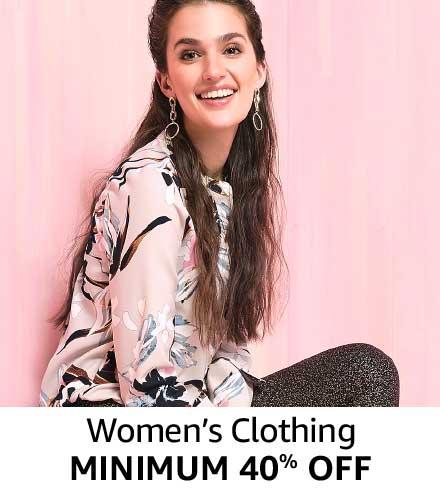 Minimum 40% off Women Clothing