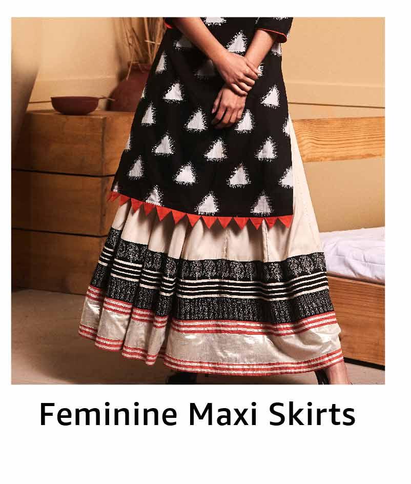 Feminine Maxi Skirts