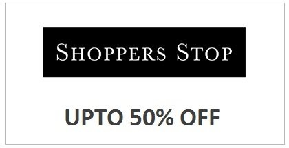 Shoppers Stop: Up to 50% off