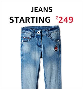 Jeans starting 249