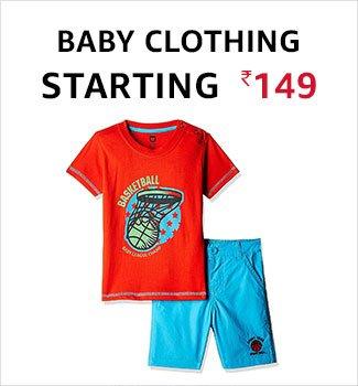 Baby clothing starting 149