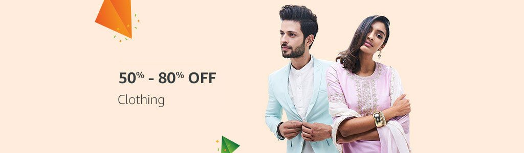 Clothing - 50% - 80% off