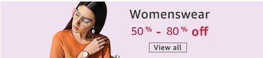 Womenswear 50% - 80% off