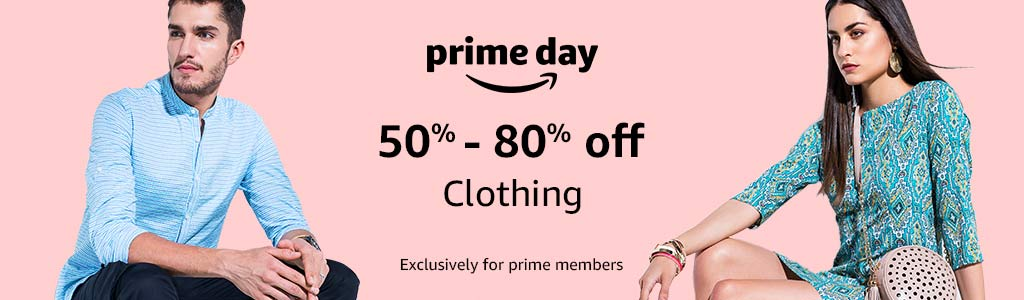 Clothing: 50% - 80% off