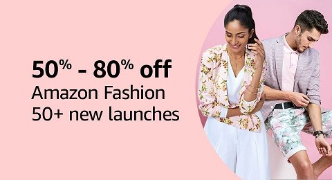 50% - 80% off | Amazon Fashion