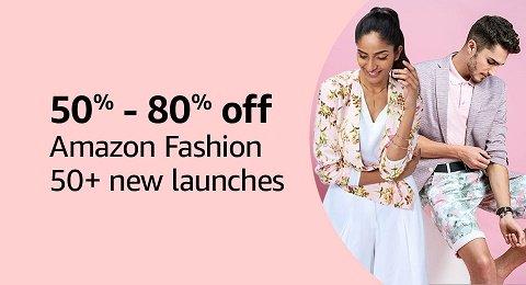 50% - 80% off | Amazon Fashion