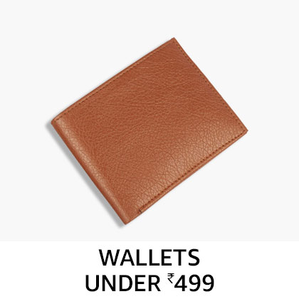 Wallets Under Rs. 499